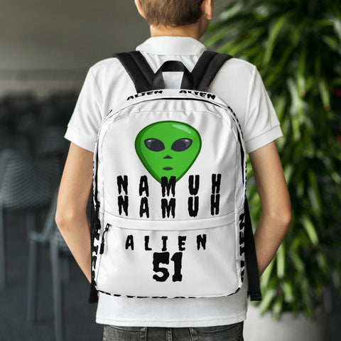 Alien NAMUH (HUMAN) Backpack