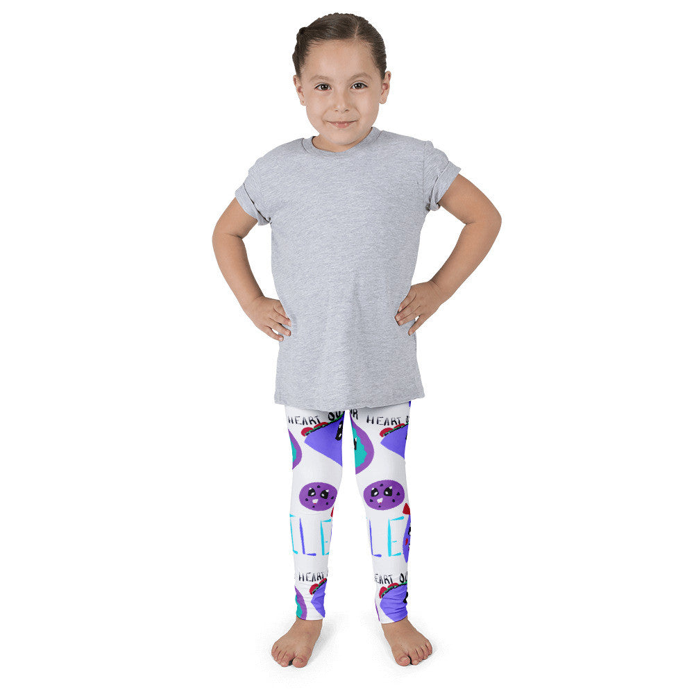 Smile Taco Family- Kid's leggings
