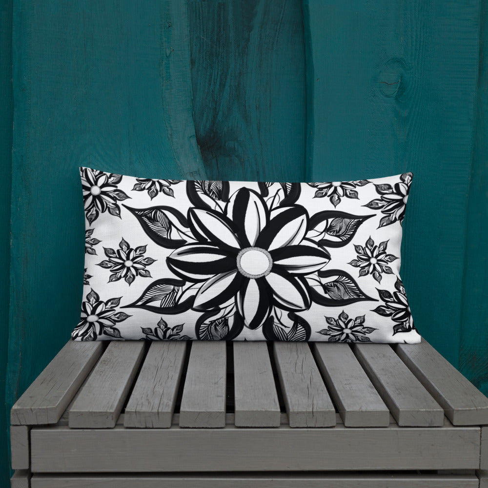 Mendhi Art Inspired - Premium Pillow