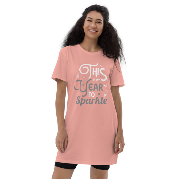 This is My Year Organic cotton t-shirt dress
