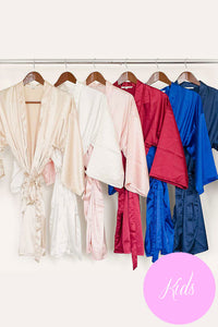 Kids Solid Robes