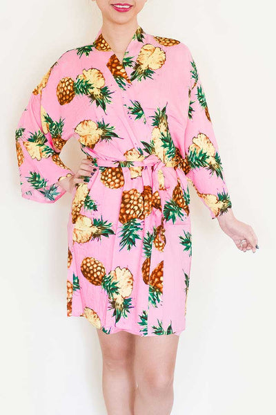 Kids Pineapple Robes