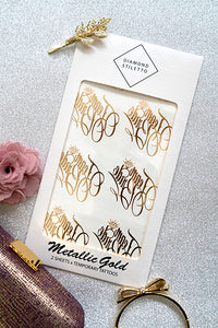 Metallic Tattoos (Nice Bachelorette Party)