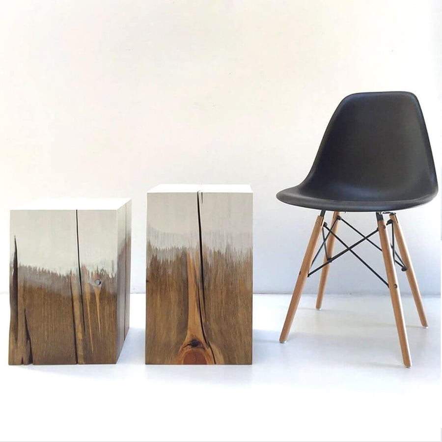CUBE C104 - WOODSWAN - Tree Stump Furniture & Coffee Tables