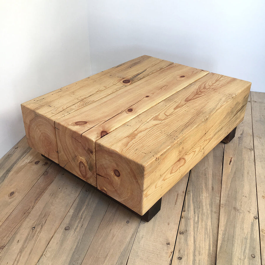 CUBE C101 - WOODSWAN - Tree Stump Furniture & Coffee Tables