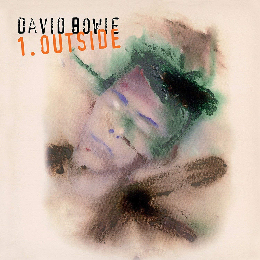 David Bowie | 1. Outside (180 Gram Audiophile White and Black Swirl Vinyl/Limited Edition/Tri-Fold Cover)
