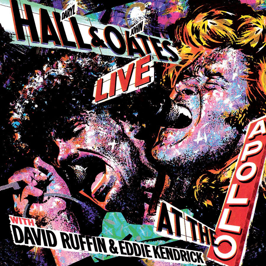 HALL AND OATS | LIVE AT THE APOLLO WITH DAVID RUFFIN & EDDIE KENDRICK CD
