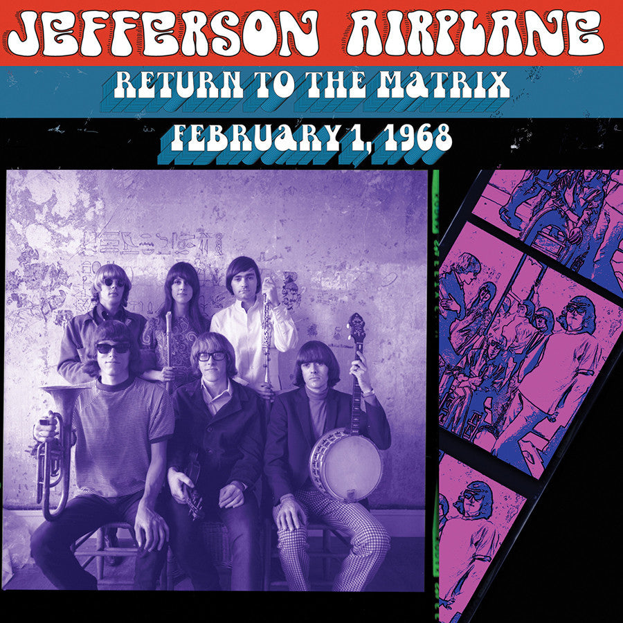 JEFFERSON AIRPLANE | RETURN TO THE MATRIX-2/1/1968 CD