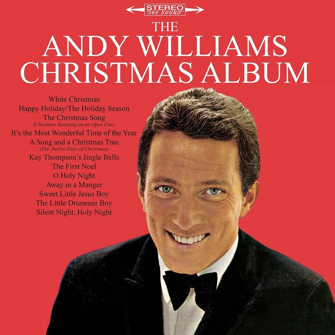 ANDY WILLIAMS | THE ANDY WILLIAMS CHRISTMAS ALBUM LP (180 GRAM AUDIOPHILE VINYL)