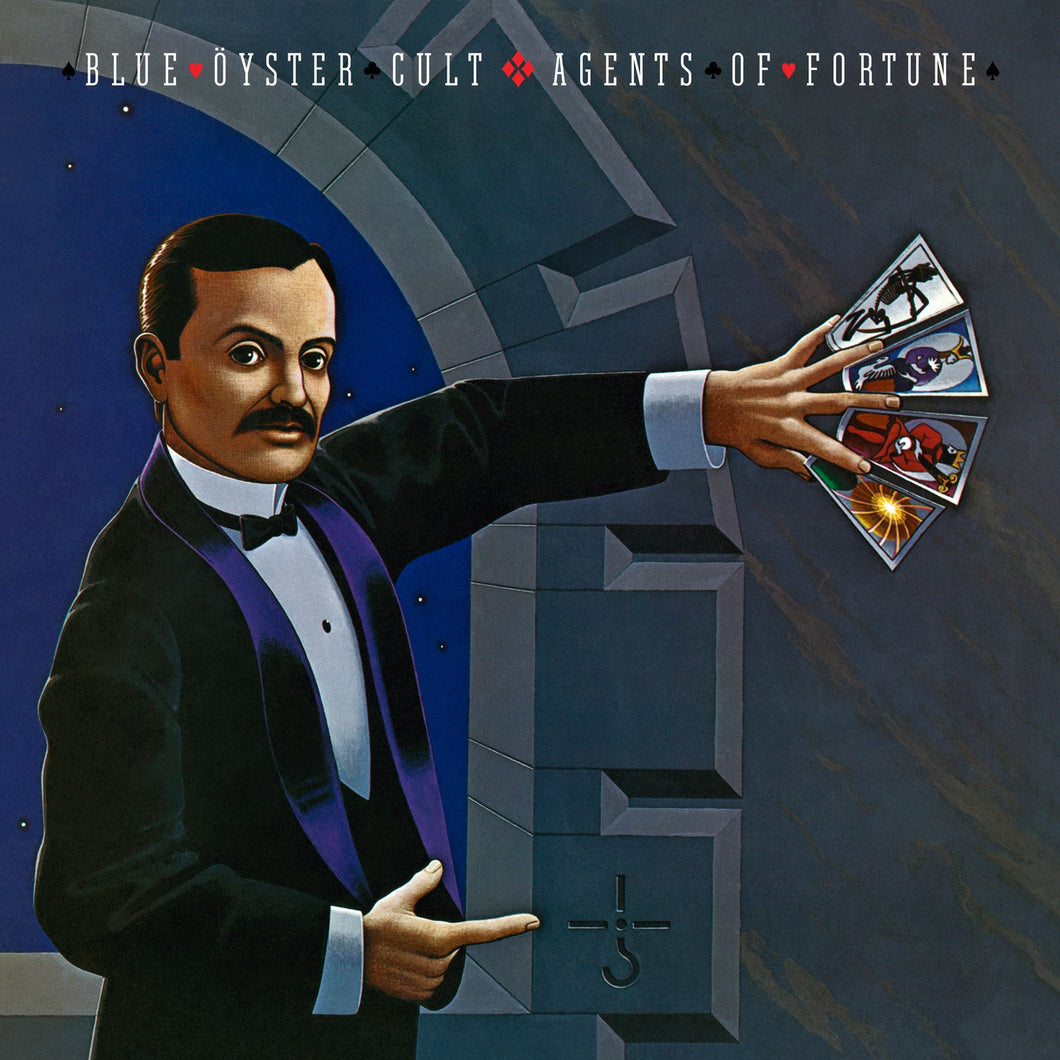 BLUE OYSTER CULT | AGENTS OF FORTUNE-40TH ANNIVERSARY EDITION (180 GRAM AUDIOPHILE TRANSLUCENT BLUE VINYL)