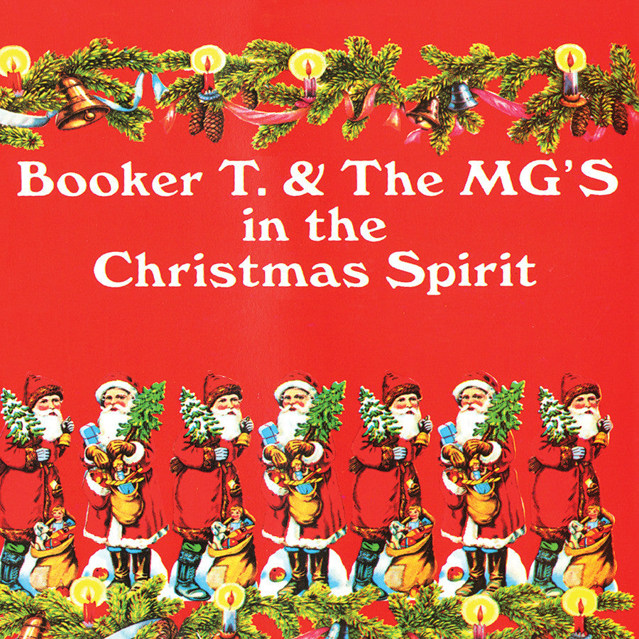 BOOKER T & THE MG'S | IN THE CHRISTMAS SPIRIT CD
