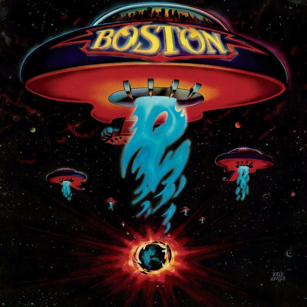 Boston | Boston (180 Gram Audiophile Red Vinyl/Limited Anniversary Edition/Gatefold Cover)