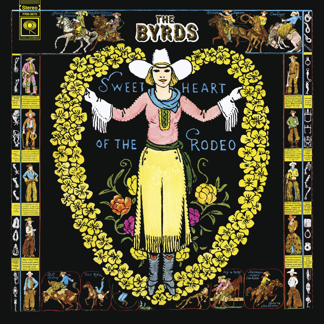 THE BYRDS | SWEETHEART OF THE RODEO (180 GRAM AUDIOPHILE COLORED VINYL/LIMITED EDITION/GATEFOLD COVER)