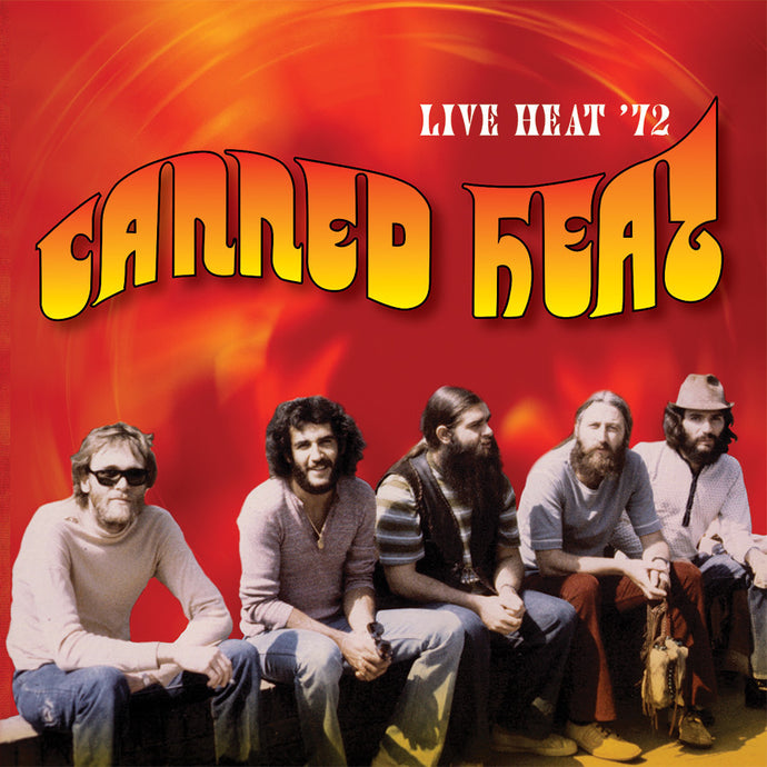 CANNED HEAT | LIVE HEAT '72 CD