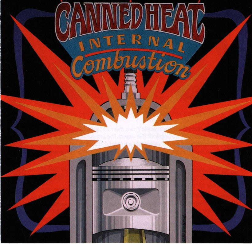 CANNED HEAT | INTERNAL COMBUSTION CD (ORIGINAL RECORDING REMASTERED/LIMITED EDITION)