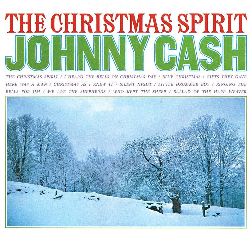 JOHNNY CASH | THE CHRISTMAS SPIRIT (180 GRAM RED AUDIOPHILE VINYL/GATEFOLD COVER/LIMITED EDITION)