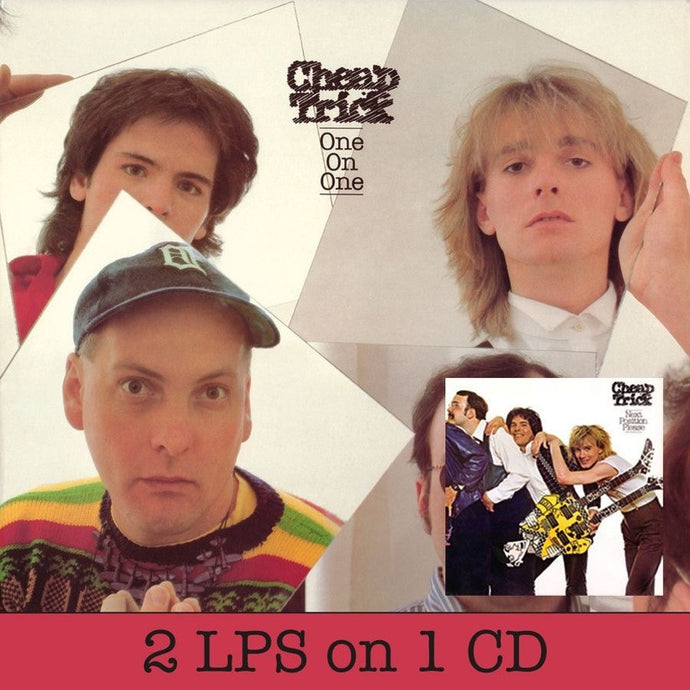 CHEAP TRICK | ONE ON ONE & NEXT POSITION PLEASE CD (ORIGINAL RECORDINGS REMASTERED/LIMITED EDITION)