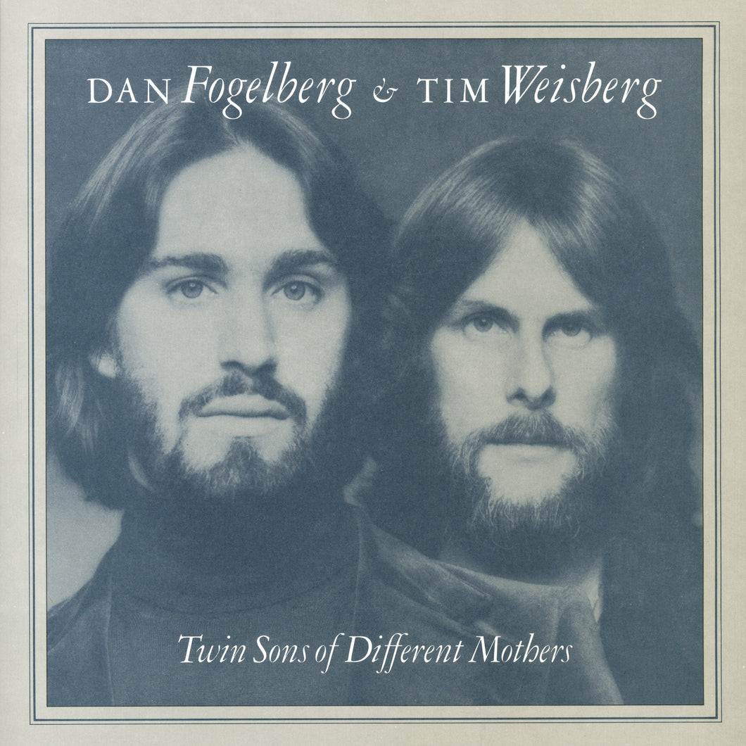 DAN FOGELBERG & TIM WEISBERG | TWIN SONS OF DIFFERENT MOTHERS (180 Gram Audiophile Clear Vinyl/Limited Anniversary Edition/Gatefold Cover + Poster)