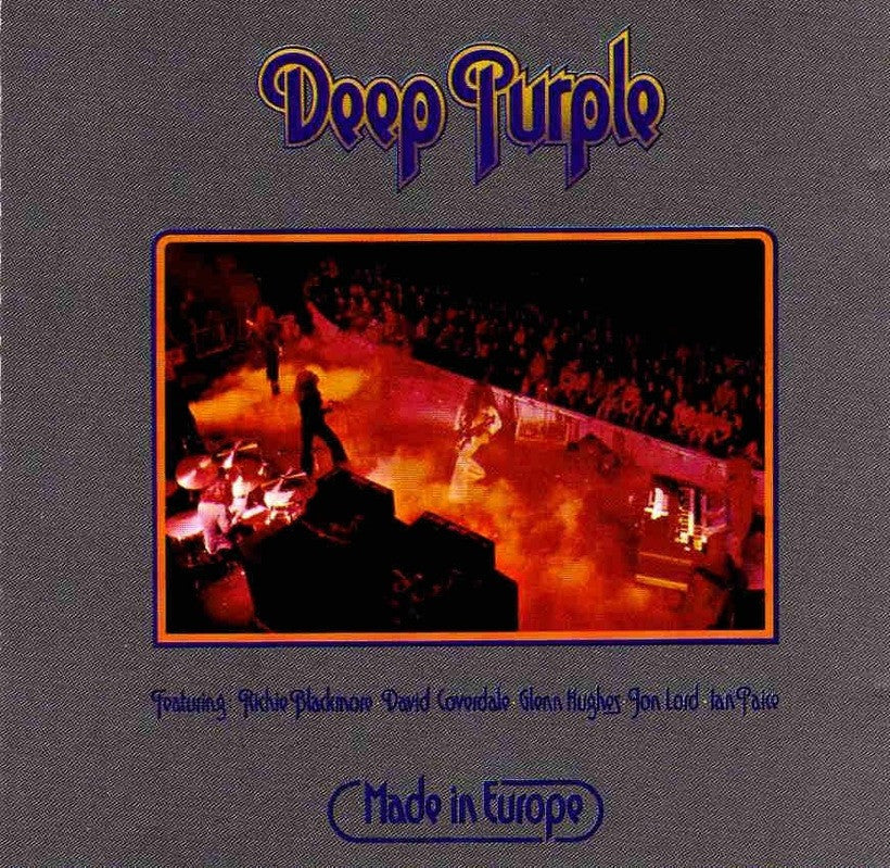 DEEP PURPLE | MADE IN EUROPE LP (180 GRAM AUDIOPHILE VINYL)
