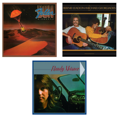 Three Former Eagles Fly Solo 3 CD Bundle