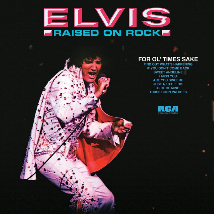 ELVIS PRESLEY | RAISED ON ROCK-FOR OL' TIMES SAKE LP (180 GRAM AUDIOPHILE VINYL)