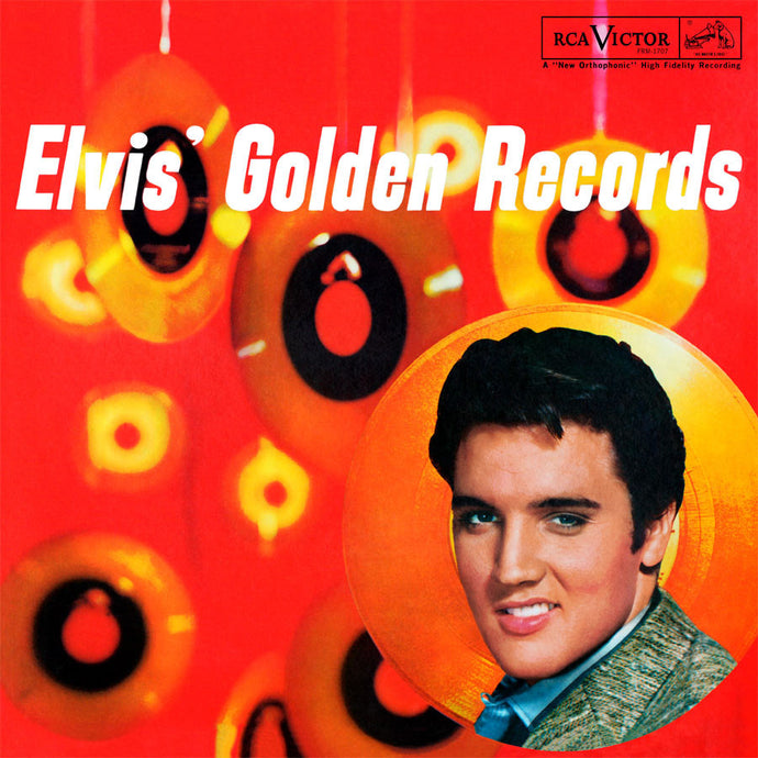 ELVIS PRESLEY | GOLDEN RECORDS VOLUME 1 (180 GRAM AUDIOPHILE RED VINYL/GATEFOLD COVER)