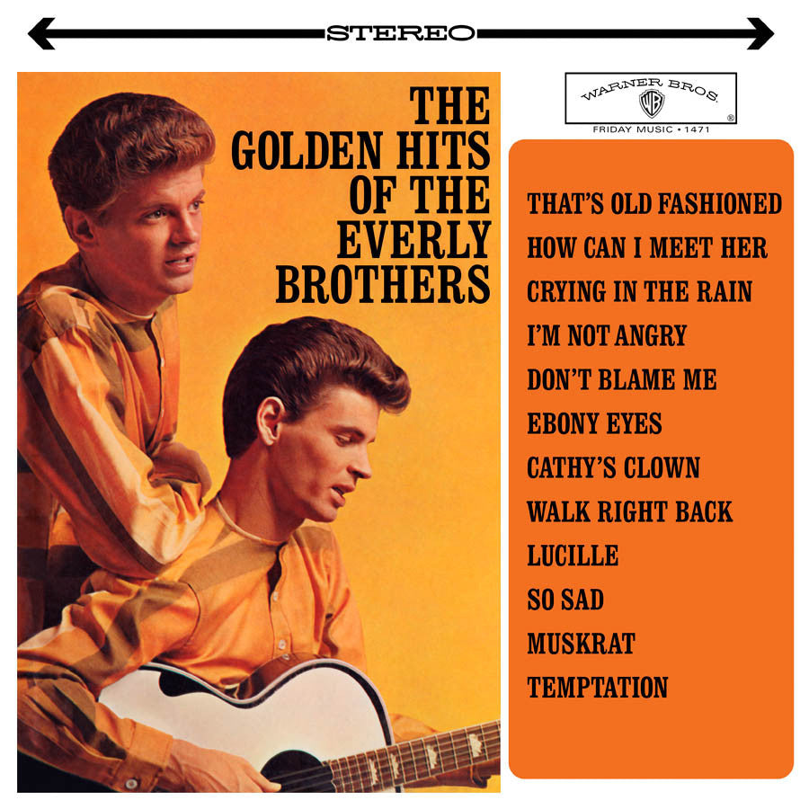 THE EVERLY BROTHERS | THE GOLDEN HITS OF THE EVERLY BROTHERS (180 GRAM AUDIOPHILE VINYL/LIMITED EDITION)