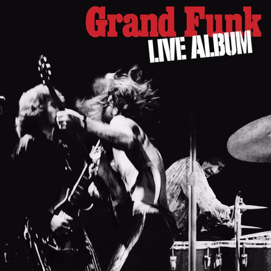 GRAND FUNK RAILROAD | Live Album (180 Gram Audiophile Vinyl/Limited Anniversary Edition/Gatefold Cover)