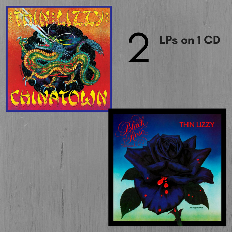 THIN LIZZY Black Rose & Chinatown (Original Recording Masters/Limited Anniversary Edition)