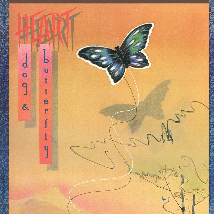 HEART | DOG AND BUTTERFLY (180 GRAM AUDIOPHILE TRANSLUCENT BLUE VINYL/LIMITED ANNIVERSARY)