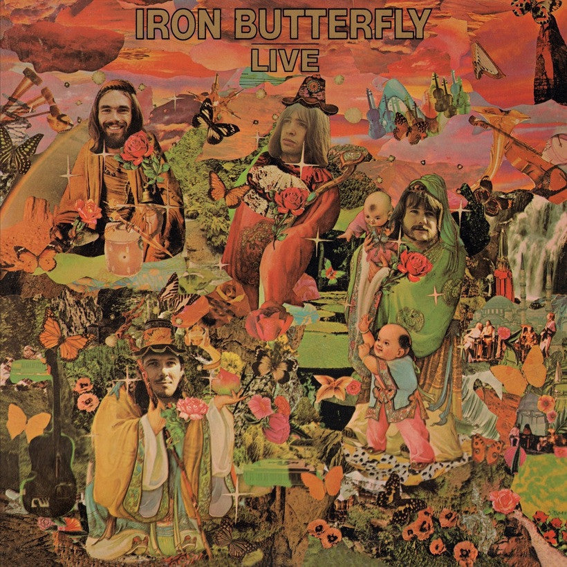 IRON BUTTERFLY | IRON BUTTERFLY LIVE (180 GRAM AUDIOPHILE VINYL/LIMITED ANNIVERSARY EDITION)