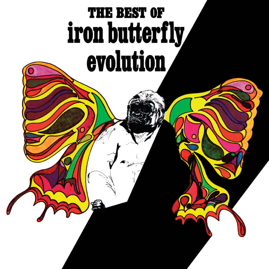 IRON BUTTERFLY | EVOLUTION-THE BEST OF THE IRON BUTTERFLY LP (180 GRAM AUDIOPHILE VINYL)