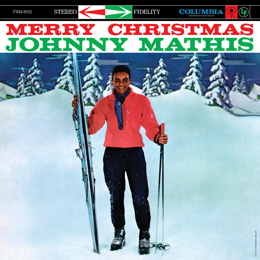 JOHNNY MATHIS | Merry Christmas (180 Gram Translucent Blue Vinyl ...