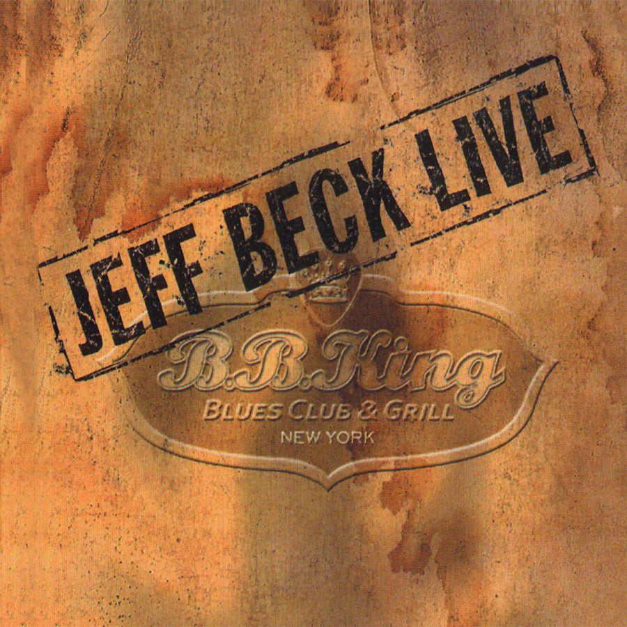 JEFF BECK | LIVE AT B.B. KING BLUES CLUB/THE COLLECTOR'S EDITION CD