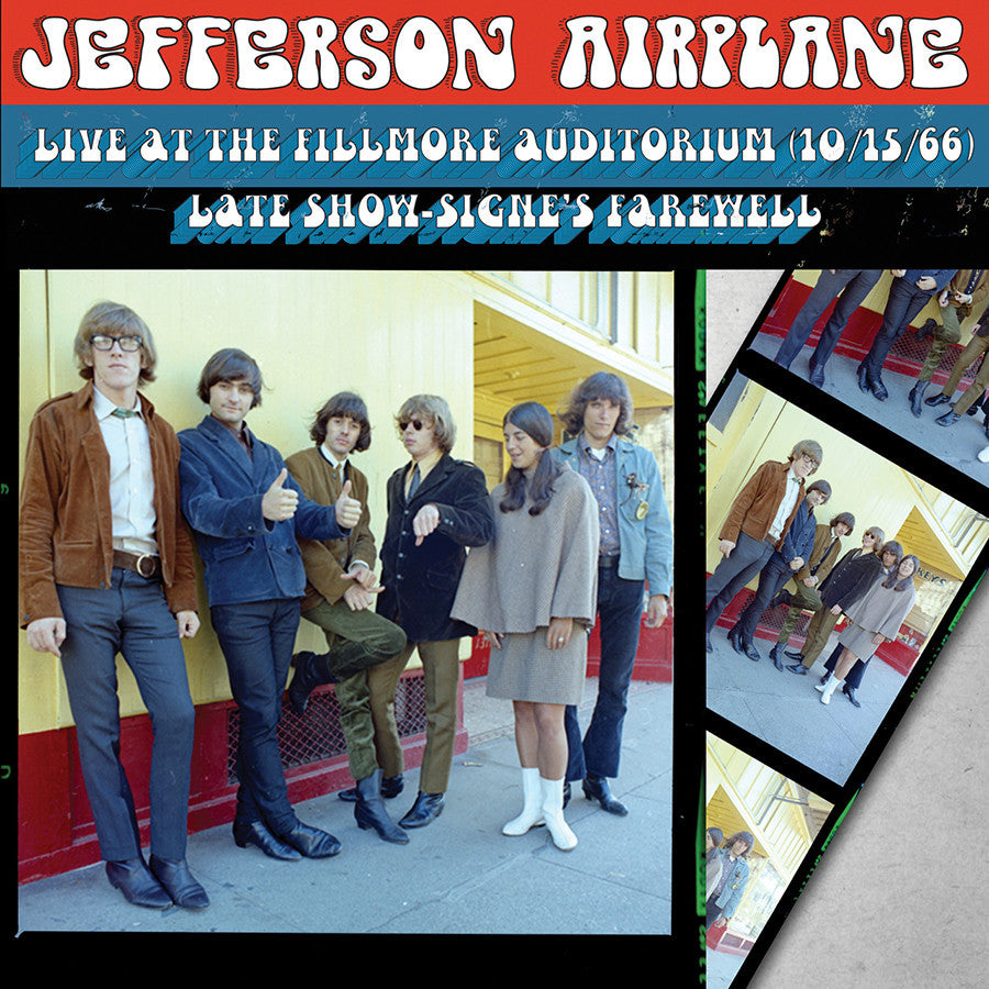 JEFFERSON AIRPLANE | SIGNE'S FAREWELL-LIVE AT THE FILLMORE AUDITORIUM-10/15/66 LATE SHOW CD