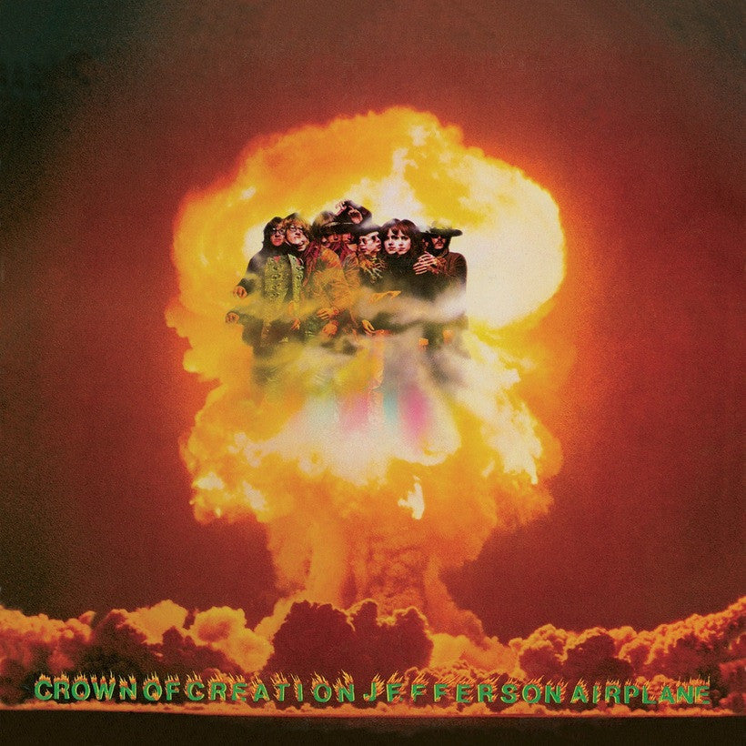 JEFFERSON AIRPLANE | CROWN OF CREATION (180 GRAM AUDIOPHILE TRANSLUCENT ORANGE MARBLE VINYL/LIMITED EDITION)