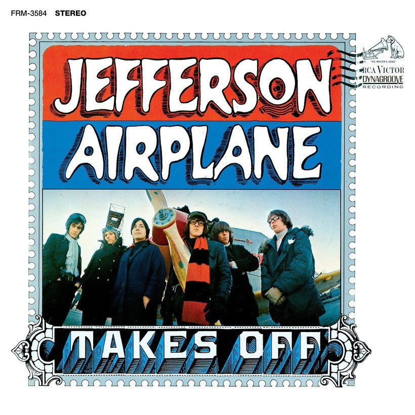 JEFFERSON AIRPLANE | TAKES OFF (180 GRAM AUDIOPHILE TRANSLUCENT BLUE VINYL)