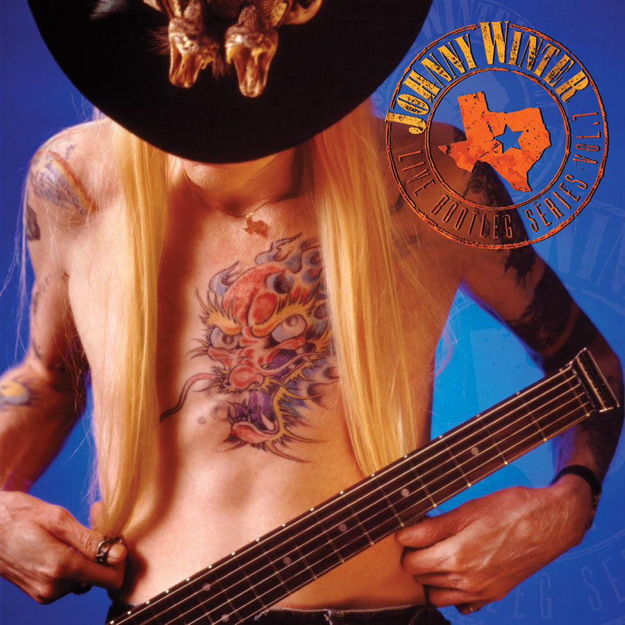 JOHNNY WINTER | LIVE BOOTLEG SERIES VOLUME 7 LP (ORIGINAL RECORDING REMASTERED)