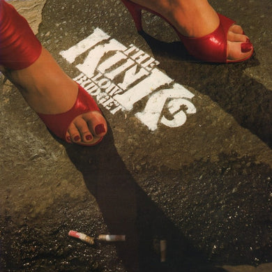 THE KINKS | LOW BUDGET (180 Gram Audiophile Translucent Red Vinyl/Limited Edition/Gatefold Cover & Poster)