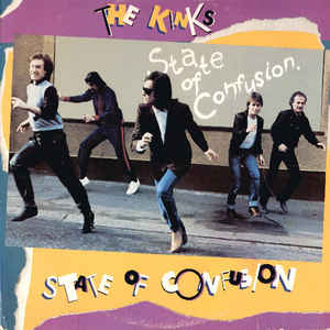 The Kinks | State Of Confusion (180 Gram Audiophile Clear With Blue & Gold Swirl Vinyl/Limited Edition/Gatefold Cover & Poster)