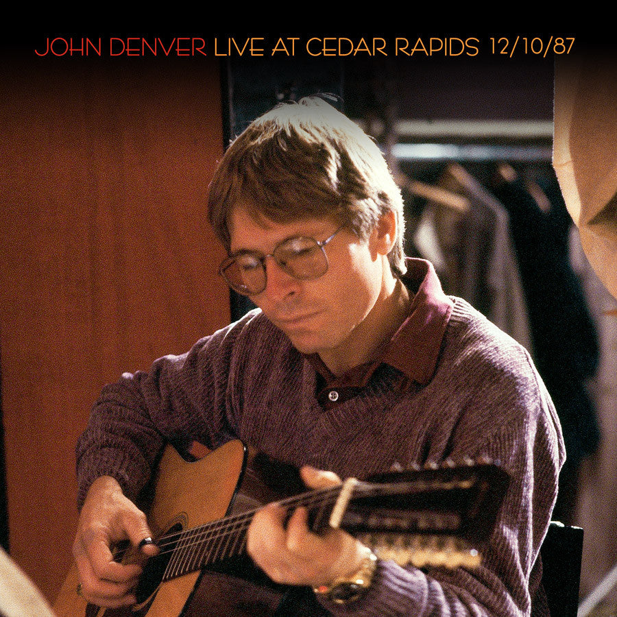 JOHN DENVER | LIVE AT CEDAR RAPIDS 12/10/87 CD