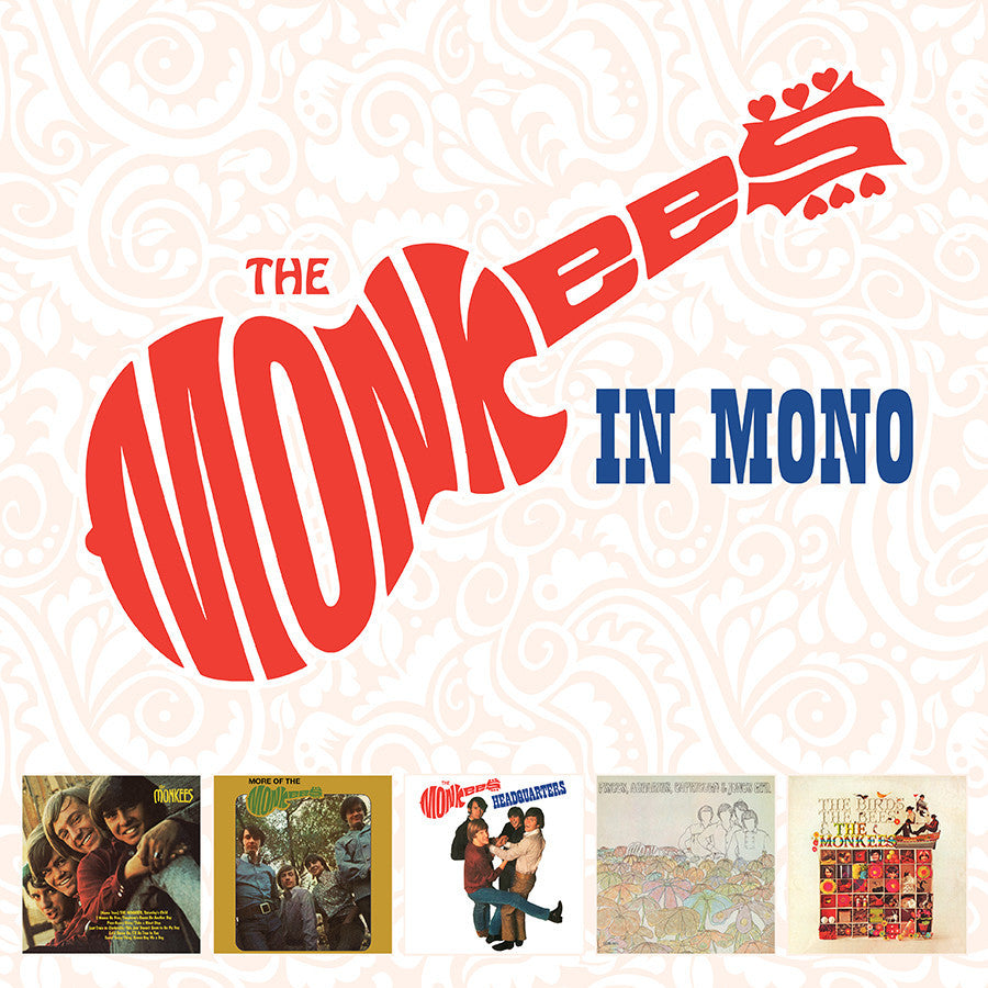 THE MONKEES IN MONO 5 LP BOX SET (180 GRAM AUDIOPHILE VINYL)