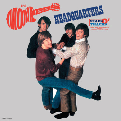 THE MONKEES Headquarters Stack-O-Tracks (180 Gram Audiophile Clear Vinyl/50th Anniversary Edition)