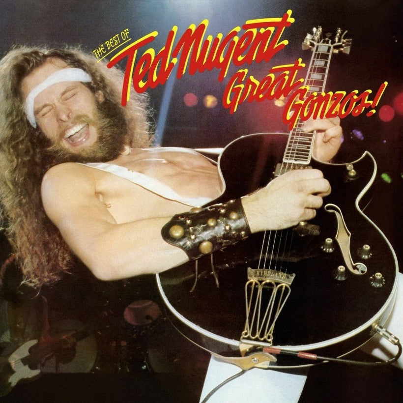 TED NUGENT | GREAT GONZOS - THE BEST OF TED NUGENT (180 Gram Audiophile Translucent Gold Vinyl/Limited Edition/Gatefold Cover & Poster)