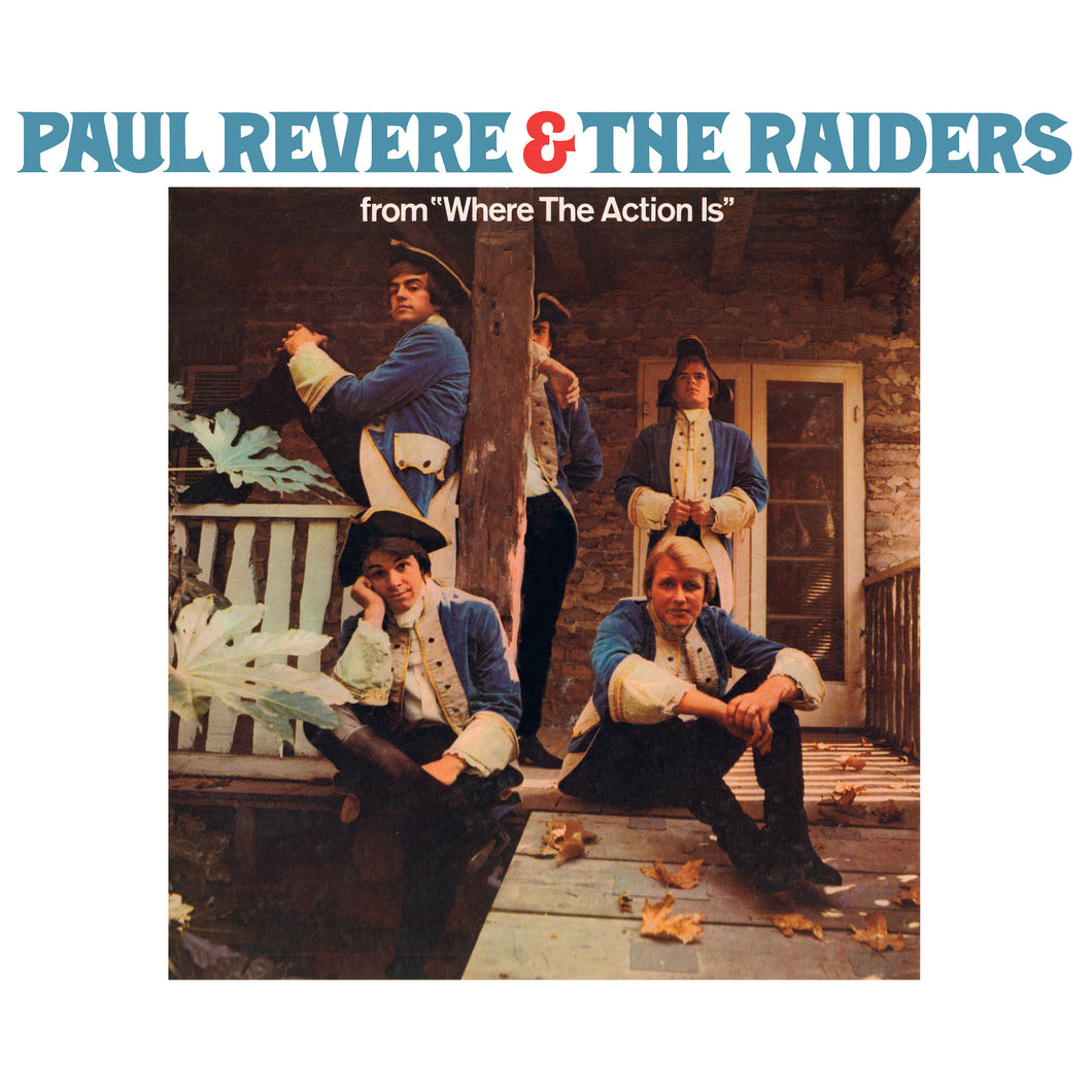 PAUL REVERE & THE RAIDERS | JUST LIKE US (180 GRAM AUDIOPHILE WHITE VINYL/LIMITED 50TH ANNIVERSARY EDITION)