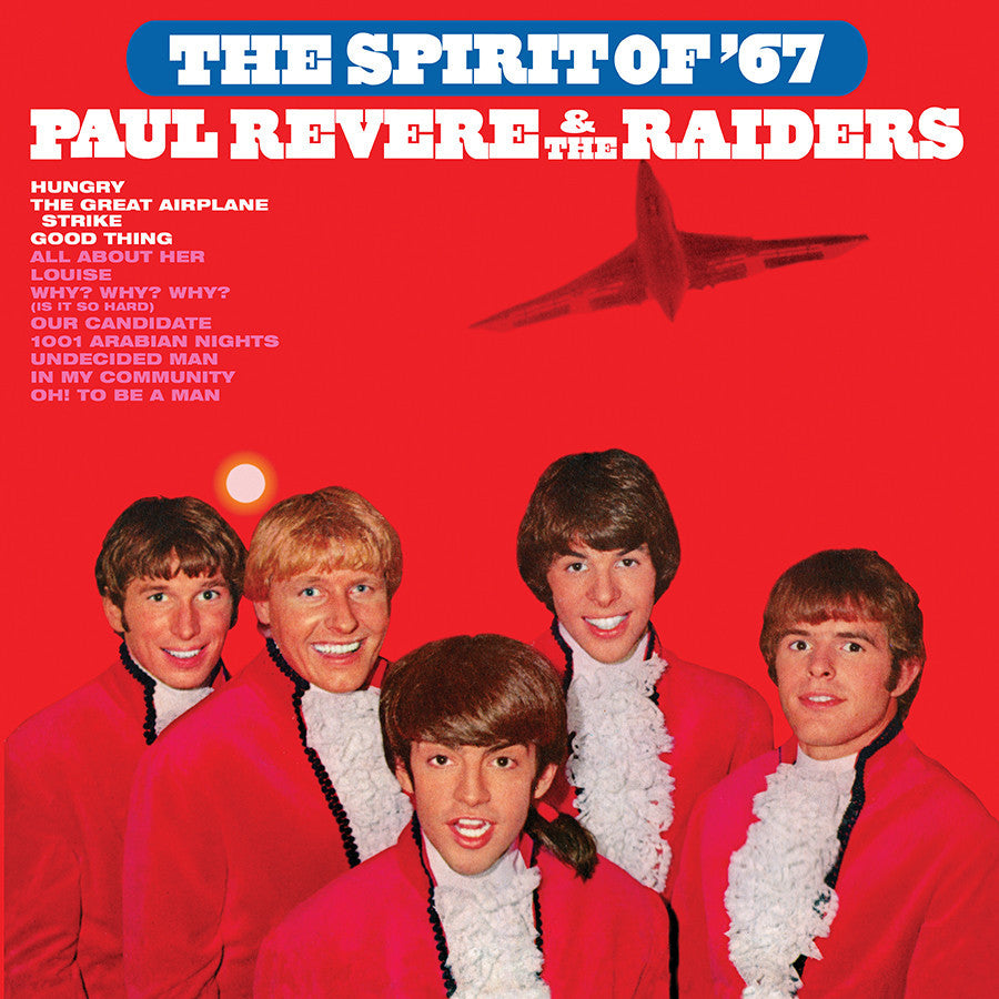 PAUL REVERE & THE RAIDERS | THE SPIRIT OF '67 LP (180 GRAM AUDIOPHILE VINYL)