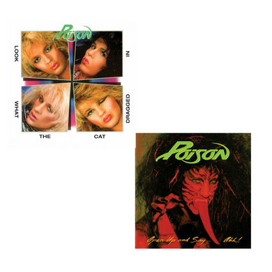 POISON | Double Shot Of Poison 2 LP Bundle