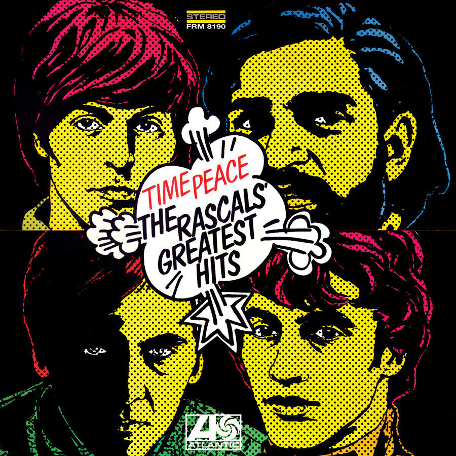 THE RASCALS | TIME PEACE-THE RASCALS GREATEST HITS LP (180 GRAM AUDIOPHILE VINYL)