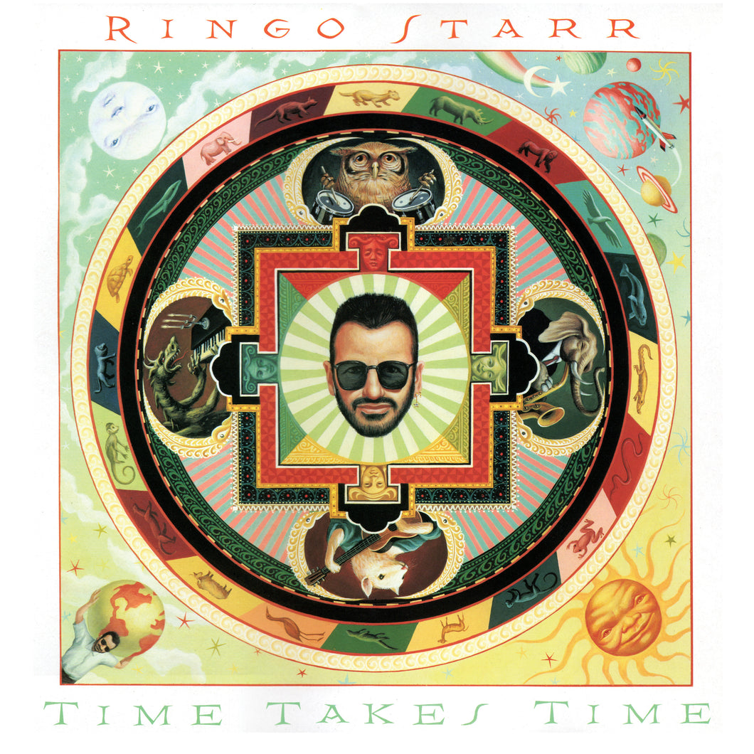 RINGO STARR | TIME TAKES TIME (180 GRAM AUDIOPHILE TRANSLUCENT GREEN VINYL/LIMITED EDITION/GATEFOLD)