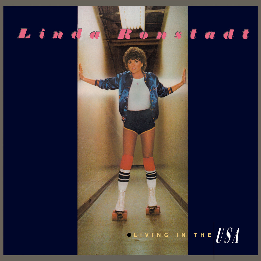 LINDA RONSTADT | LIVING IN THE U.S.A. (180 Gram Audiophile Translucent Blue Vinyl/Limited Anniversary Edition/Gatefold Cover)